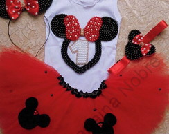 Kit Tutu Minnie Vermelha