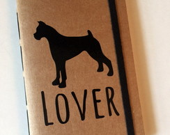 Caderninho Kraft Lover Dog Boxer