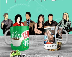 Caneca de Porcelana Serie - Friends