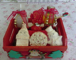"Kit Caixote ""PAPAI NOEL"""