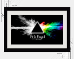 Quadro Pink Floyd 67x47cm Dark Side Moon