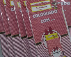 Revista de colorir da Minnie