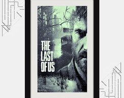 Quadro the Last Of Us 67x47cm Pop Art