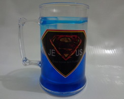 Caneca Gel 350ml - Super Jesus 01