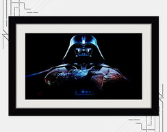 Quadro Star Wars 67x47cm Darth Vader