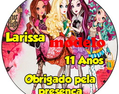 Adesivo 5cm -Ever After High