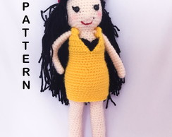 Amy Winehouse Amigurumi Pattern