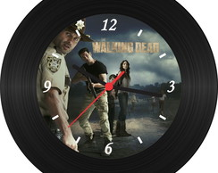 Relógio de Vinil - The Walking Dead