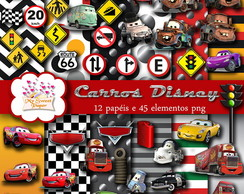 Kit digital Carros Disney