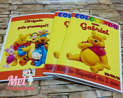 Revista de colorir: Pooh