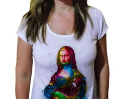 Camiseta Feminina Monalisa Fashion