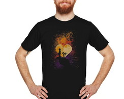 Camiseta Kingdom Hearts Galactic 15226