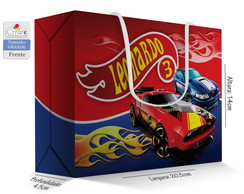Caixa Surpresa Grande - Hot Wheels