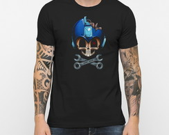 Camiseta Mega Man Game Over 15437