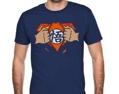 Camiseta Superman Goku 027