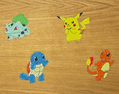 Patches Bordados Pokémons 1