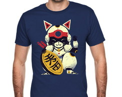 Camiseta Lucky Cat Samurai 083