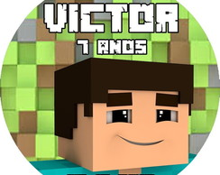 Tags para toppers Minecraft