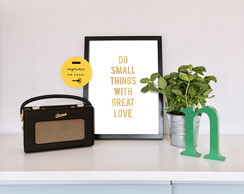 Poster Digital - Small Things