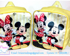 Mochila Minnie & Mickey