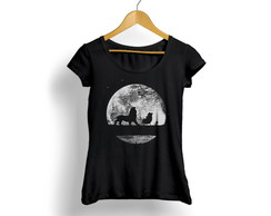 Camiseta Feminina King Lion Night 31028