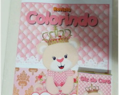 Kit de colorir Ursa Princesa