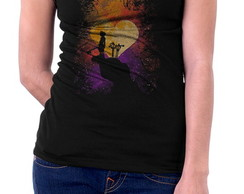 Camiseta Feminina Kingdom Hearts 31147