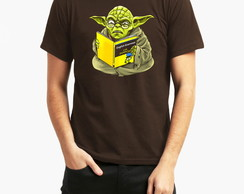 Camiseta Star Wars Yoda Man Book 10033