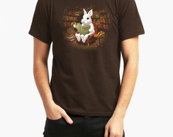 Camiseta Bunny Reading a Book 10056