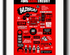 Quadro Big Bang Theory com Paspatur
