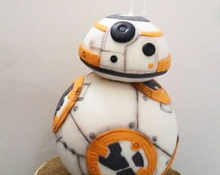 Bolo Fake Star Wars Robô BB8 - VENDA
