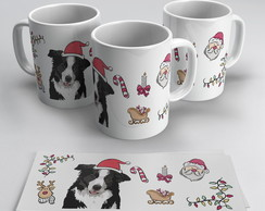 Caneca Border Collie Natal