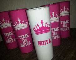 Copos Long Drink Time da Noiva