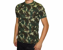 Camiseta Camuflada Malha Alg. Paintball