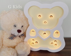 LUMINÁRIA URSO LUMINOSO-G KIDS LED