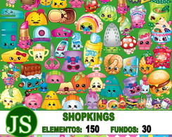 Kit Digital Scrapbook Shopkings