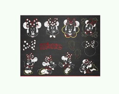 Kit Digital Chalkboard Minnie