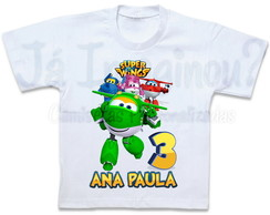 Camiseta Super Wings Mira
