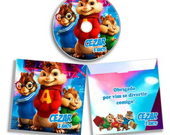 Dvd ou Cd do Alvin e os esquilos