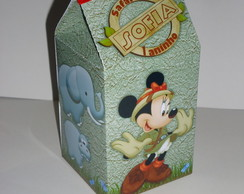 Caixa personalizada Minnie Safari
