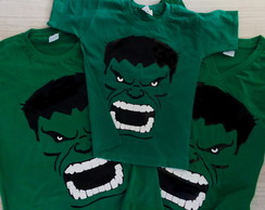 Camiseta Personalizada do Hulk