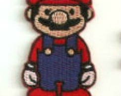 Mario Video game Patch Termocolante