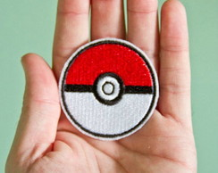 Pokemon bola Patch Termocolante