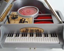 Porta Joias Piano Musical