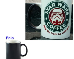Caneca Magica Star Wars Coffee