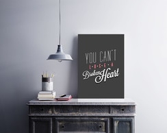 "Placa decorativa ""You Can't Lose"""