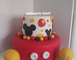 BOLO DE BISCUIT DO MICKEY