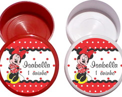 Latinha Personalizada Minnie,Mickey, baby disney