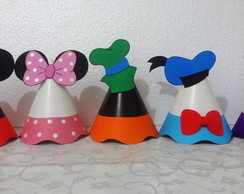 Chapéu Cone turma do Mickey