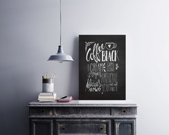 "Placa decorativa ""Coffee Black Cream"""